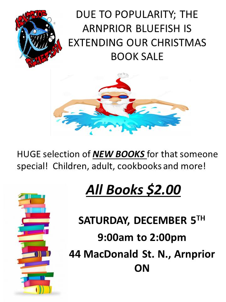 Extended Bluefish Book Sale